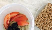 #Krabičkujeme: Hummus – cizrnová pomazánka s olivami
