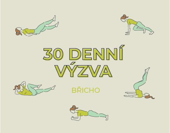 Zacvič si 30 denní challenge zaměřenou na břicho!